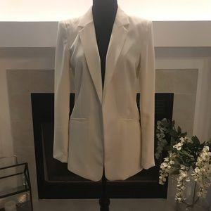 H&M Women's White Dress Blazer/Jacket Size 8